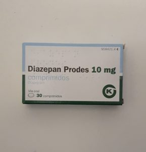 30x 10mg Prodes Diazepam Tablets 2